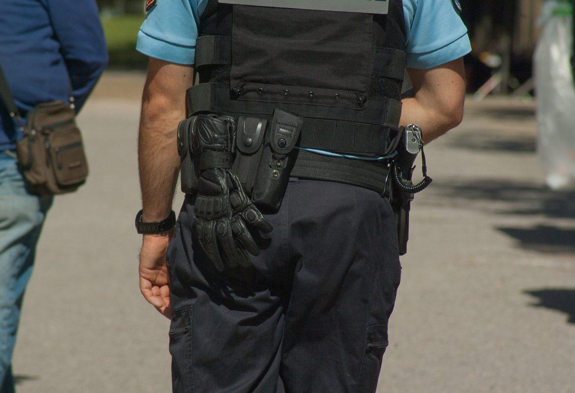 Equipamiento para vigilante de seguridad
