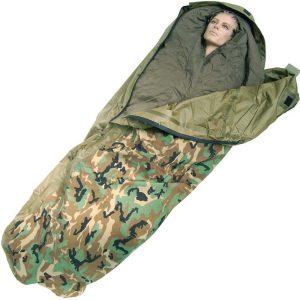Sacos de dormir militares